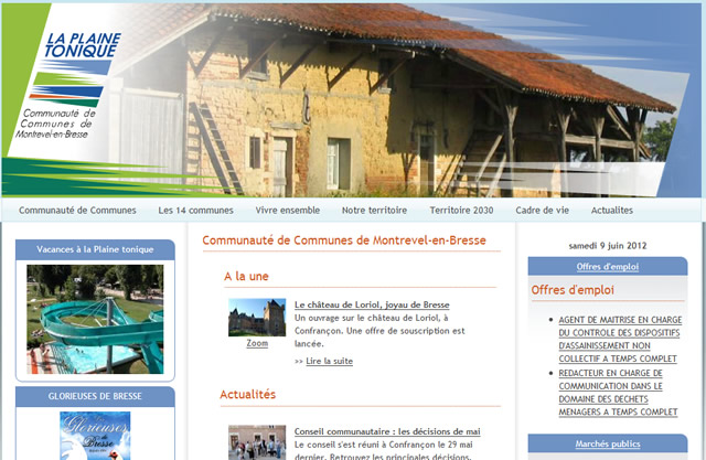Office du tourisme de la Bresse